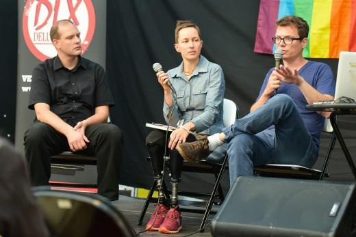 Kaisa Leka und Olivier Kugler im Gespräch